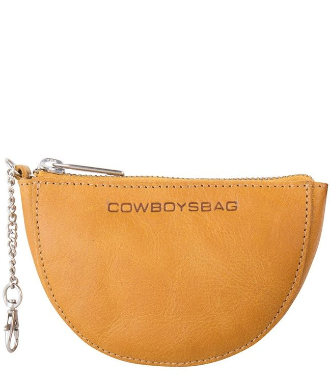 Cowboysbag Rounded wallet wylie amber
