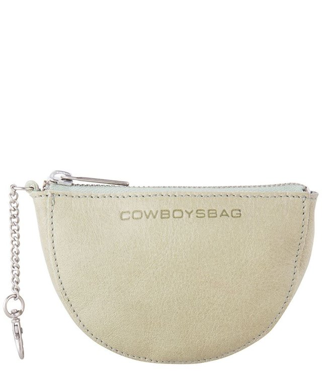 Cowboysbag Rounded wallet wylie soft green