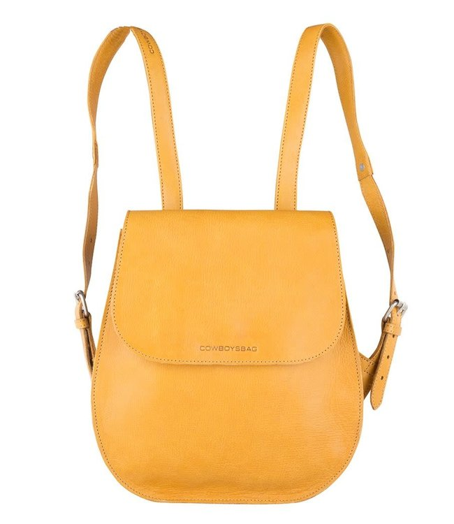 Cowboysbag Rounded backpack Clyde amber
