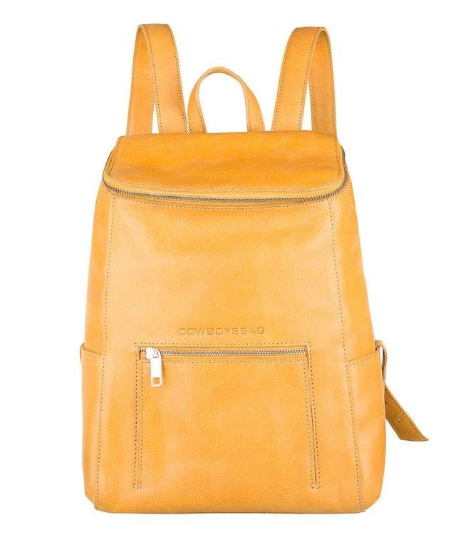 Cowboysbag Slanted backpack delta 13 inch amber