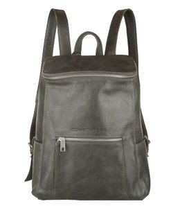 Cowboysbag Slanted backpack delta 13 inch dark green