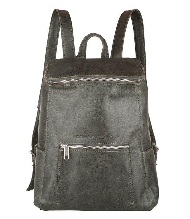 Cowboysbag Slanted backpack delta 13 inch dark green