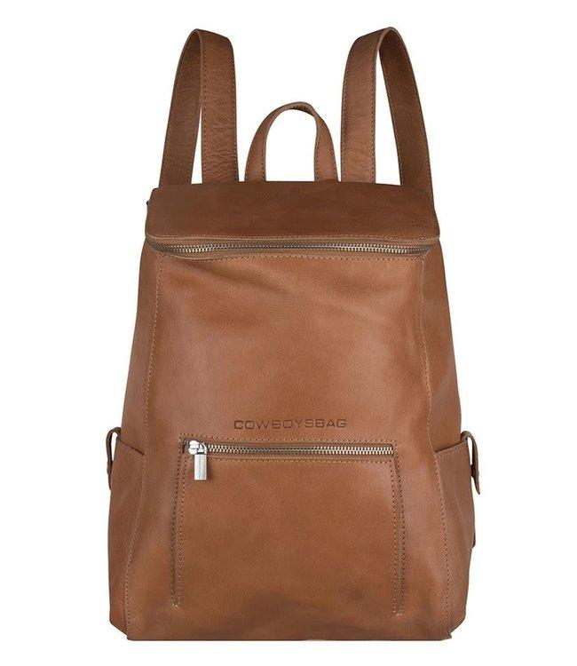 Cowboysbag Slanted backpack delta 13 inch camel