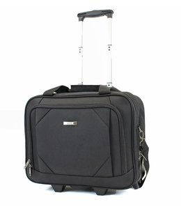 "Line Graham 15.6"" laptop trolley black"