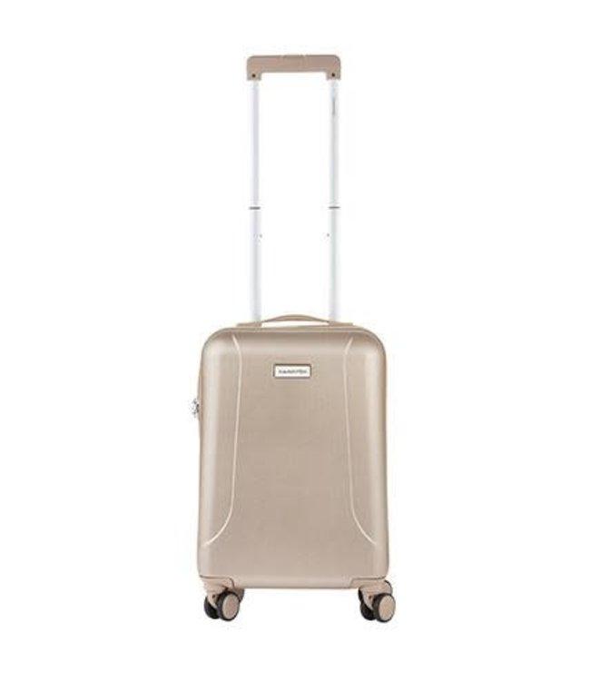 CarryOn Skyhopper 55 cm champagne-hardschalige handbagage trolley
