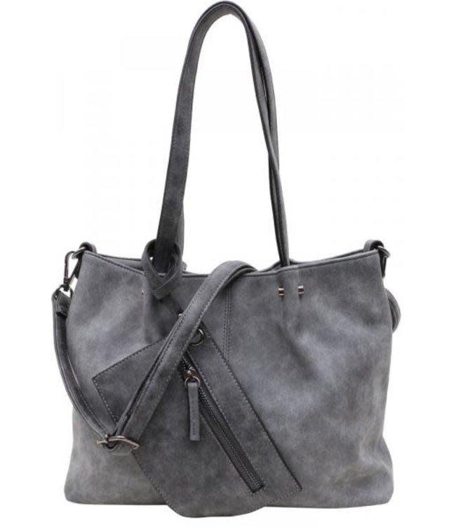 Emily & Noah 299 Bag in Bag dark grey-black