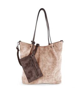 Emily & Noah 300 Bag in Bag taupe brown