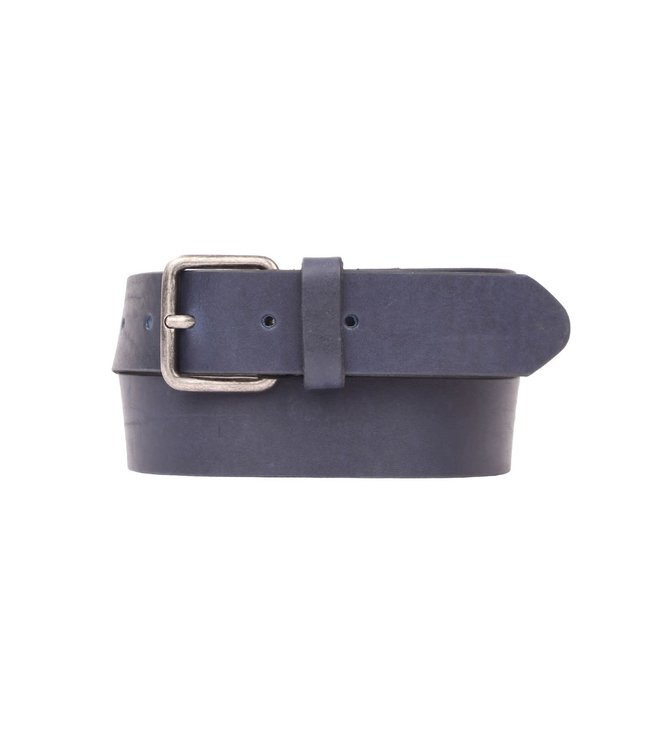 Presly and Sun 40-12 leren casual riem blue
