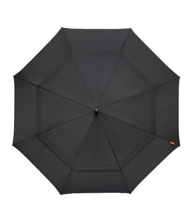 Falcone Hoge kwaliteit golfparaplu automaat zwart, rood en blauw