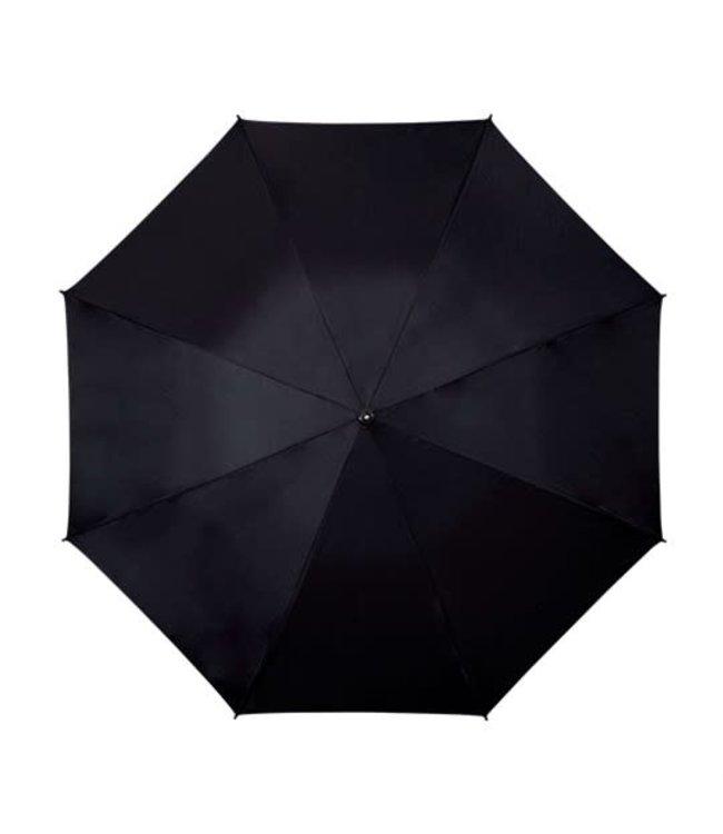 Falcone GP-57 Luxe golfparaplu automatisch open zwart en blauw