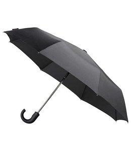 MiniMAX Opvouwbare heren paraplu open&close zwart