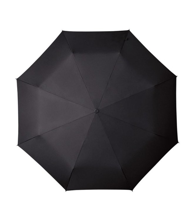 MiniMAX Opvouwbare paraplu auto open&close zwart en blauw