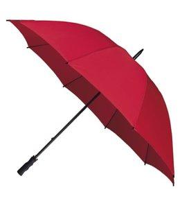 Falcone windproof golfparaplu zwart, rood, blauw en cobalt