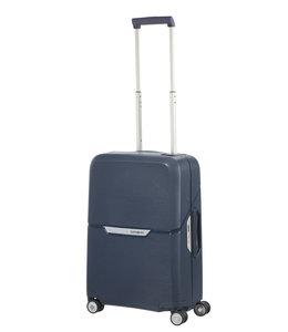 Samsonite Magnum spinner 55 dark blue-lichtgewicht handbagage