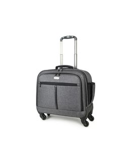 Decent Bellatrix business trolley grijs