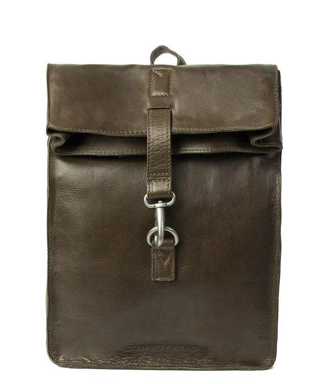 """Cowboysbag Little Doral 13"""" backpack dark green"""