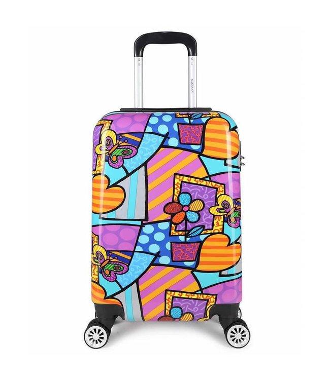 Decent Forenza 55cm trolley hearts