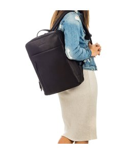 "Burkely Rain Riley backpack 15,6"" black"