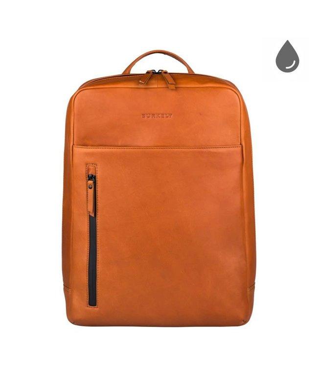 "Burkely Rain Riley backpack 15,6"" cognac"