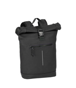 New Rebels Mart Rol waterproof rolltop backpack black