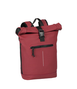 New Rebels Mart Rol waterproof rolltop backpack burgundy