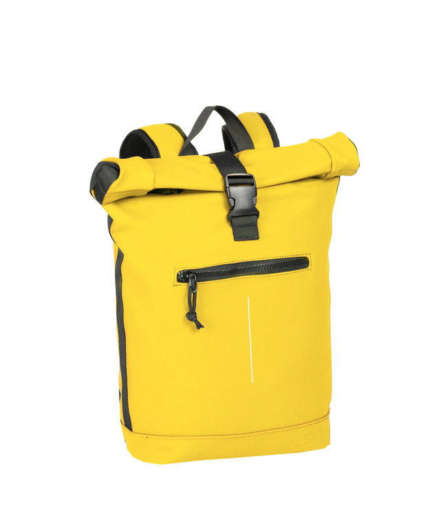 New Rebels Mart Rol waterproof rolltop backpack yellow