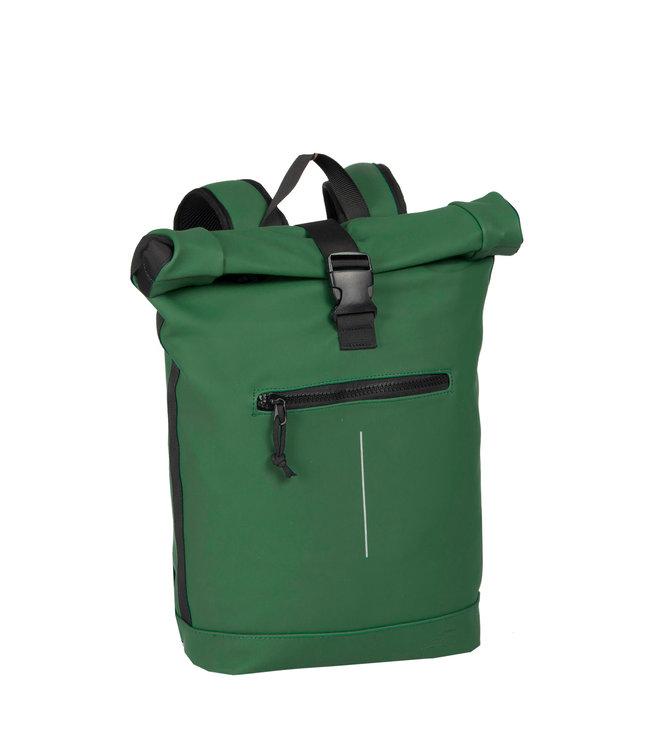 New Rebels Mart Rol waterproof rolltop backpack green