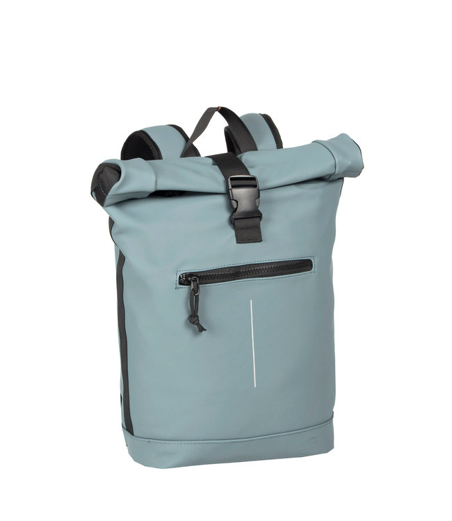 New Rebels Mart Rol waterproof rolltop backpack soft blue