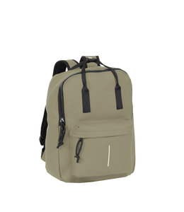 New Rebels Mart Handel waterproof backpack taupe