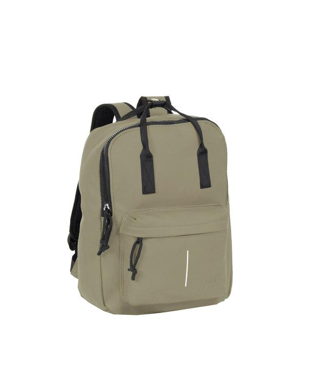 New Rebels Mart Handel waterproof backpack taupe