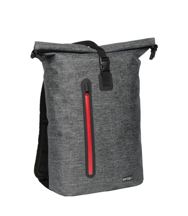 New Rebels Vasos waterproof backpack black