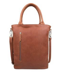"Cowboysbag Bag Luton big 15.6"" cognac"