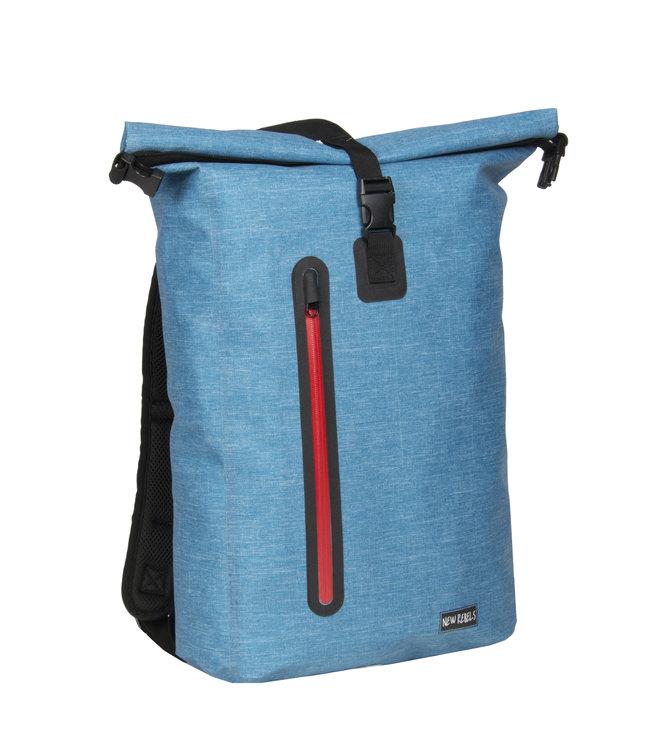 New Rebels Vasos waterproof backpack Turquoise