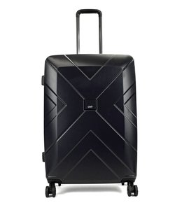 Oistr Denver 64cm expandable 4-wiel trolley zwart