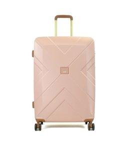 Oistr Florence 64cm expandable 4-wiel trolley pink