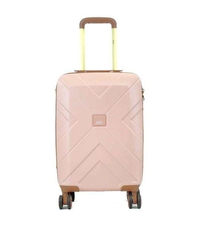 Oistr Florence 55cm 4-wiel handbagage trolley pink