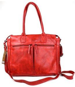 Bear Design Callisto Pelle Binni dames laptoptas rood