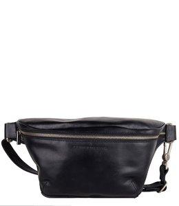 Cowboysbag Fanny Pack Savanne leren heuptas zwart
