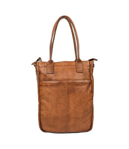 Bear Design Becky business shopper cognac