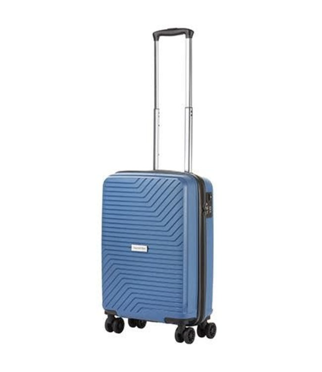 CarryOn Transport 55cm cabin luggage blue jeans