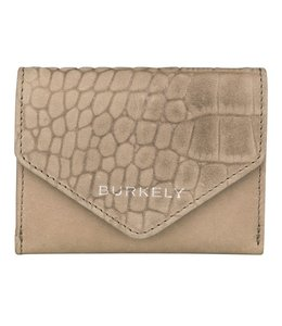 Burkely Croco Cody wallet S dark grey