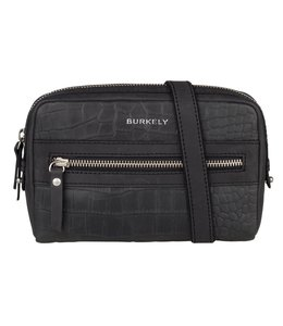 Burkely Croco Cody 5-way bag zwart