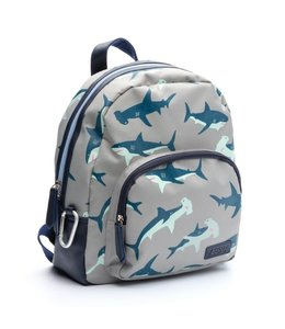 Zebra Trends Rugzak boys wild shark blue