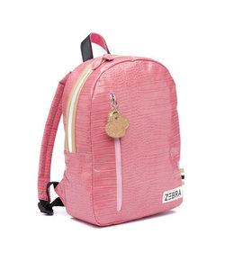 Zebra Trends Rugzak M croco pink