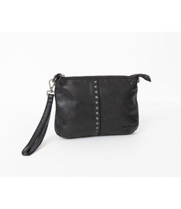 BAG2BAG Lucia schoudertasje-clutch zwart