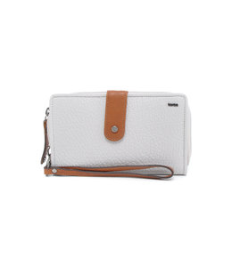 Berba ladies wallet 121-920 pebble