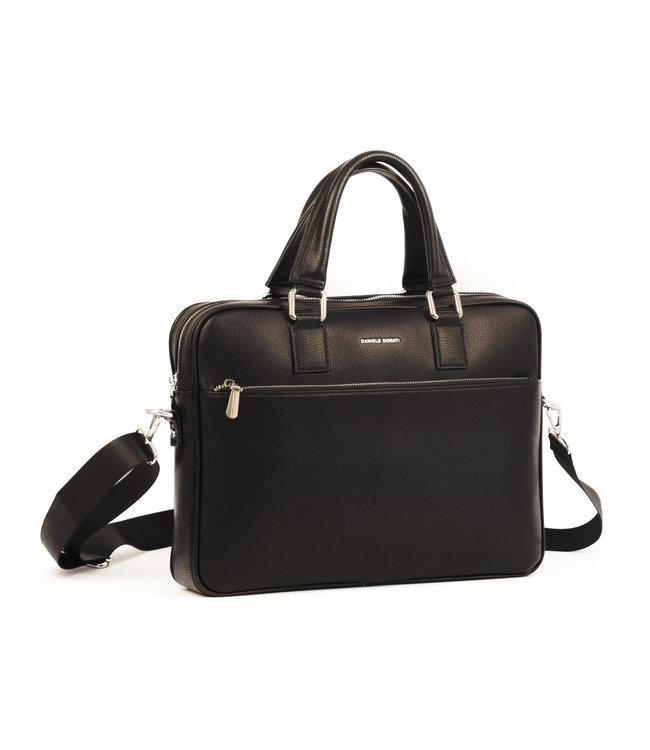Daniele Donati 229 Luxe business-tas zwart