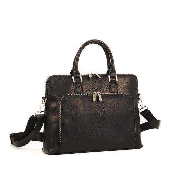 Daniele Donati 334 Luxe business-tas zwart