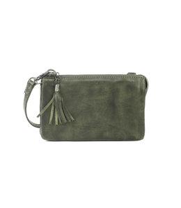 Bear Design Alessia portemonnee tasje groen