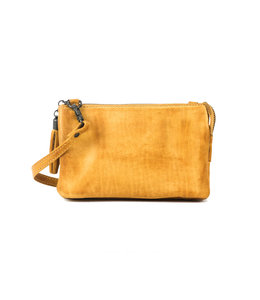 Bear Design Alessia portemonnee tasje geel